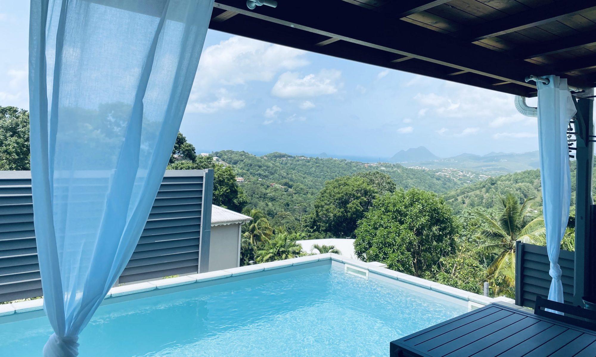 Location de vacances avec piscine en Martinique - Relyzen